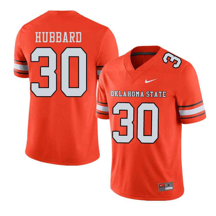 Men #30 Chuba Hubbard Oklahoma State Cowboys College Football Jerseys Sale-Alternate Orange