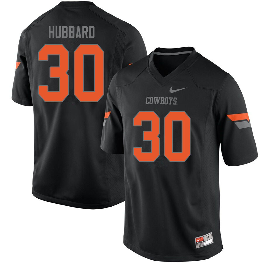 Men #30 Chuba Hubbard Oklahoma State Cowboys College Football Jerseys Sale-Black