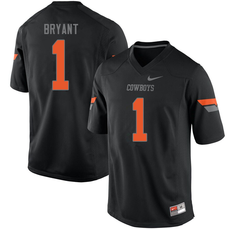 Men #1 Dez Bryant Oklahoma State Cowboys College Football Jerseys Sale-Black