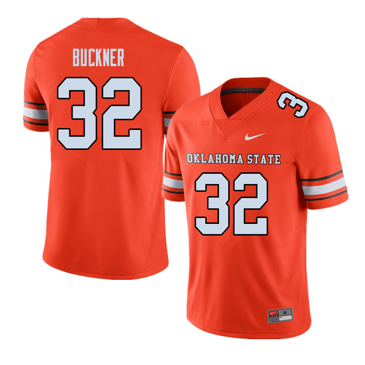 Men #32 DeSean Buckner Oklahoma State Cowboys College Football Jerseys Sale-Alternate