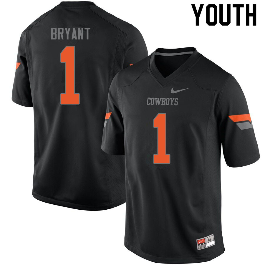 Youth #1 Dez Bryant Oklahoma State Cowboys College Football Jerseys Sale-Black